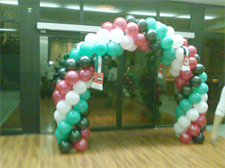 UAE National Day Balloon Arch