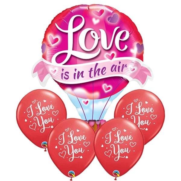 LOVE is in the AIR Balloon Bouquet - LARGE