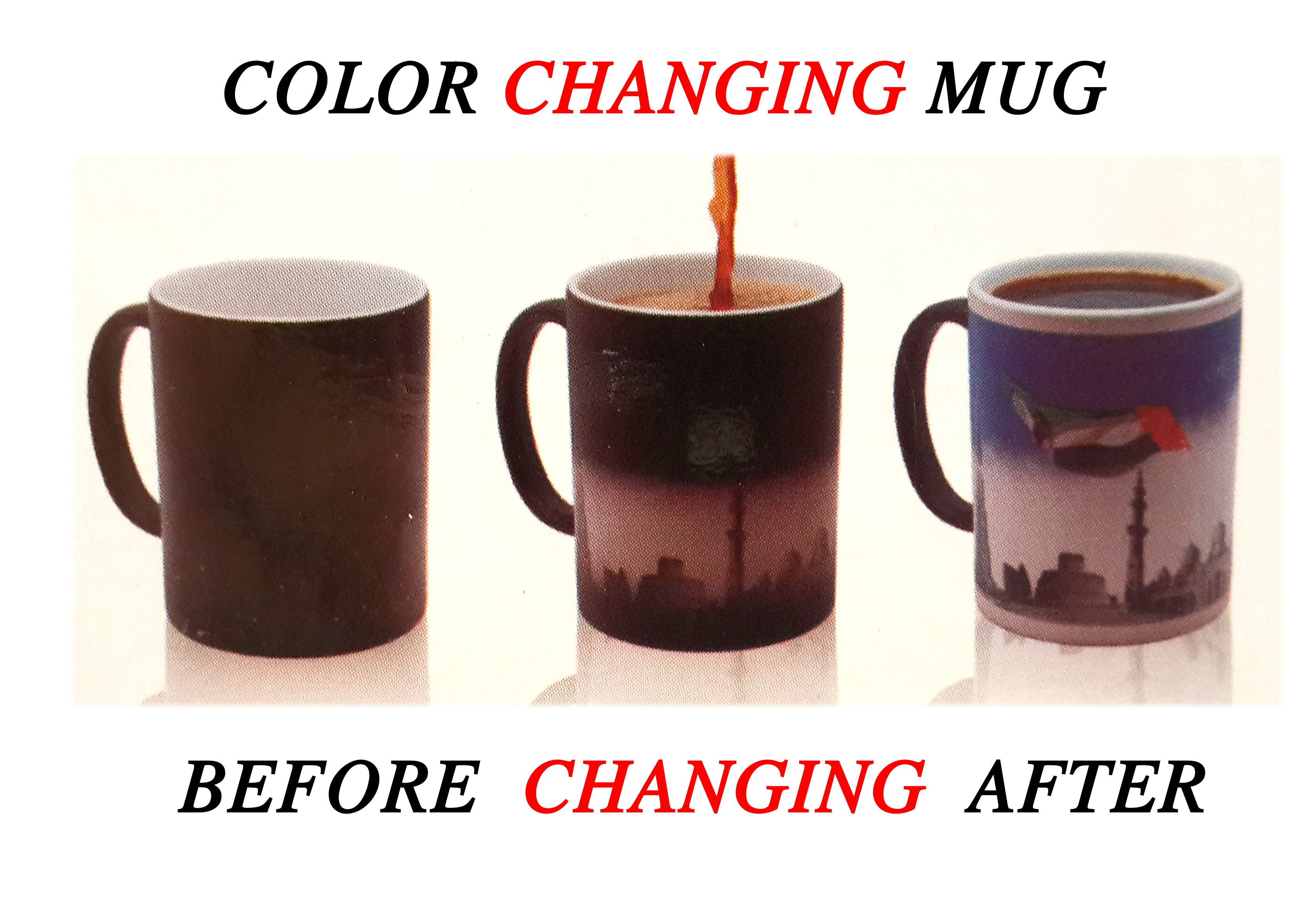 Magic Colour Changing Mug