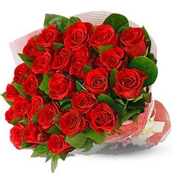 30 Upper Class Red Roses