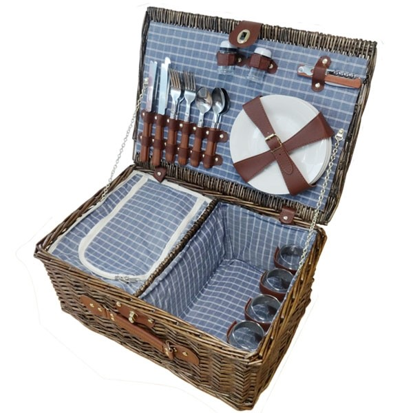 The Wayfair Picnic Basket for Four