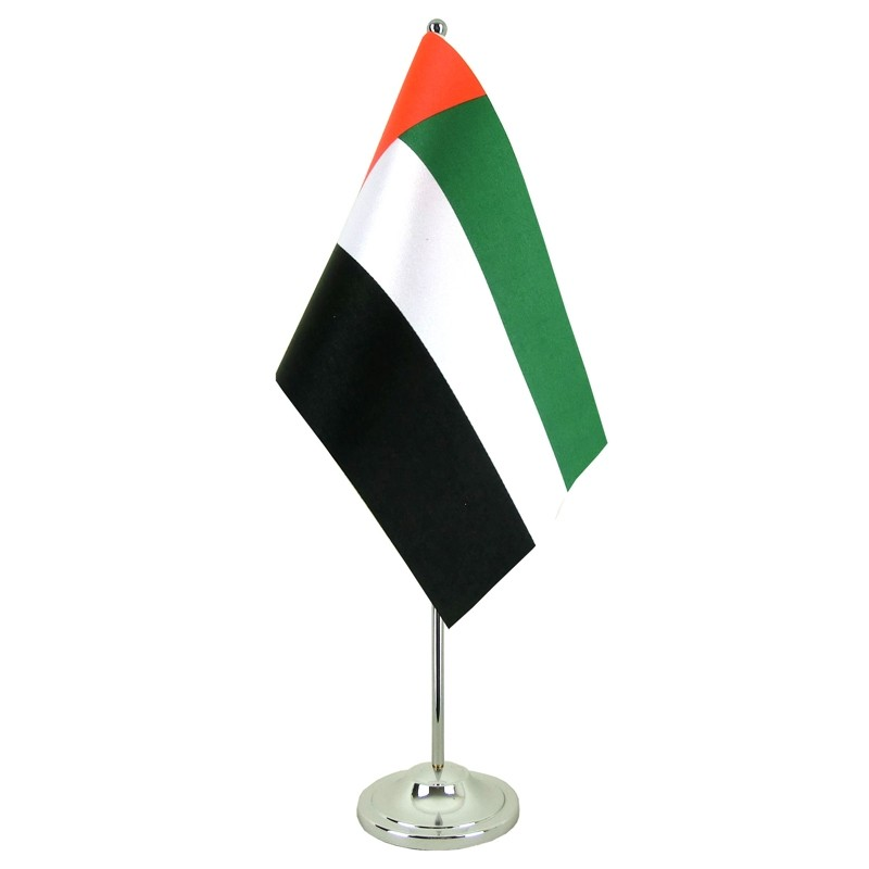 UAE Table Flags x 12 pcs packet